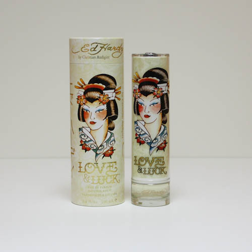 Ed Hardy Love And Luck By Christian Audigier: ED HARDY LOVE & LUCK By Christian Audigier 3.3 / 3.4 Oz Edp Perfume * New In Box