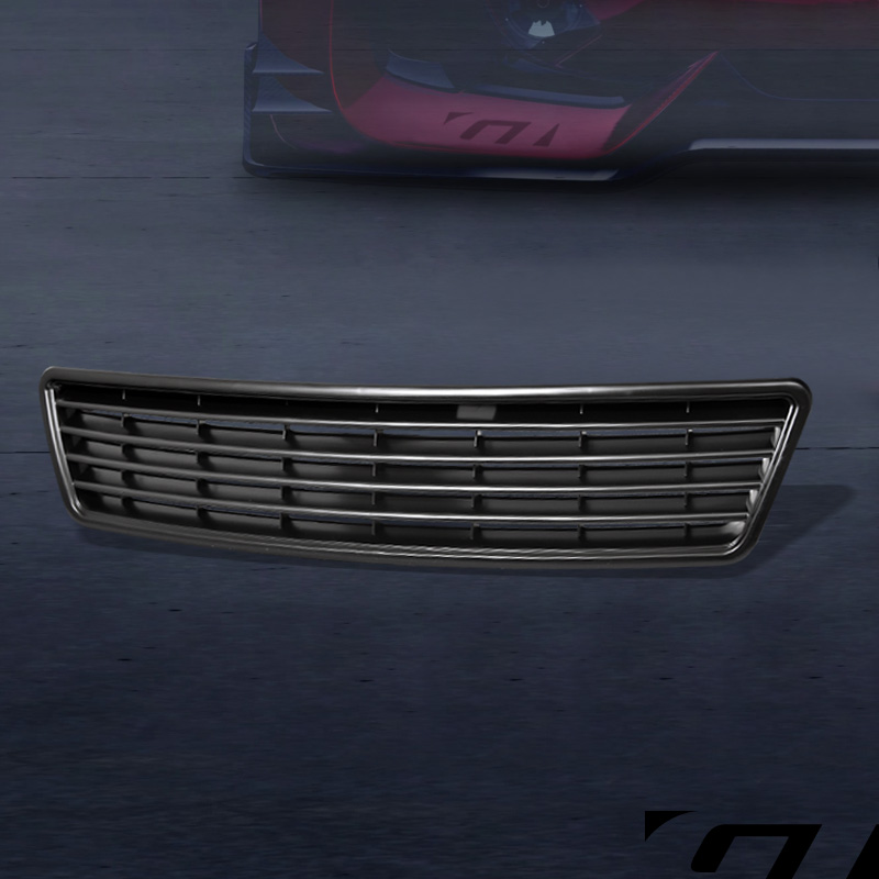 For 1998 2001 Audi A6 C5 Euro Blk Horizontal Front Hood