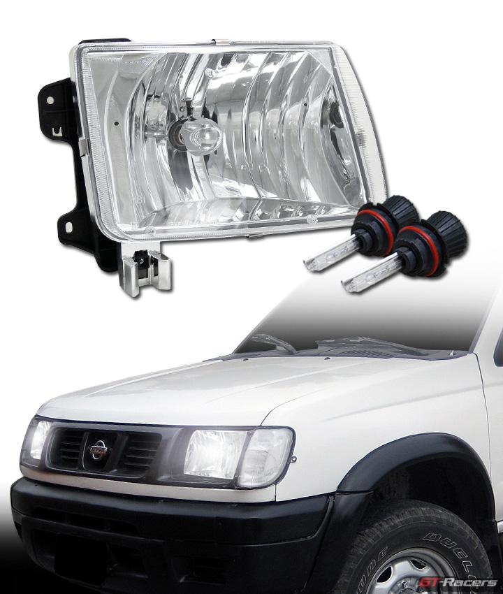 6000k hid bi xenon w chrome head lights lamp ks for 98 00. Black Bedroom Furniture Sets. Home Design Ideas