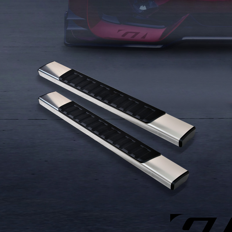 6 Quot Oe Style Hd Aluminum Side Step Running Boards 2007 2017