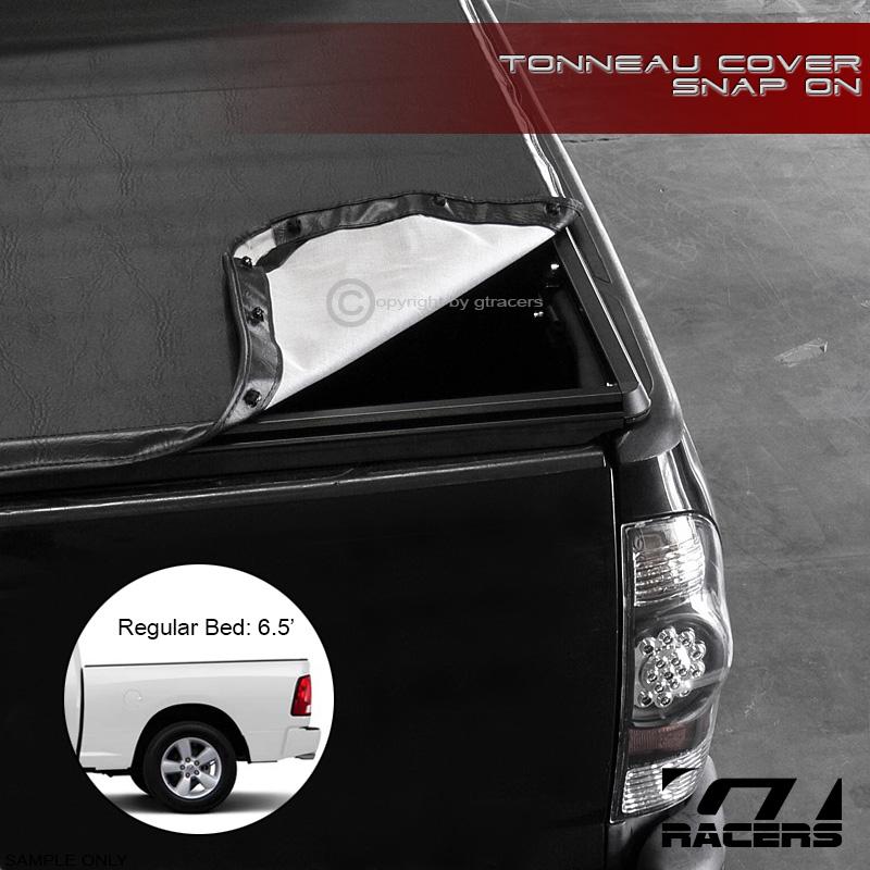 Dodge Bed Covers: SNAP-ON VINYL TONNEAU COVER 2002-2009 DODGE RAM 1500/2500