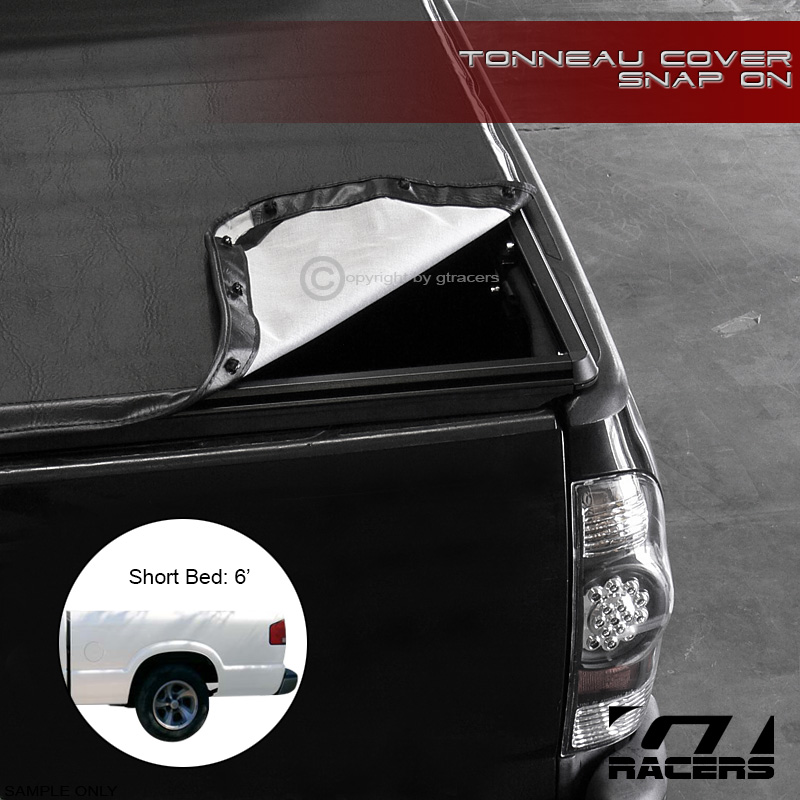 SNAP-ON VINYL TONNEAU COVER 1994-2003 CHEVY S10/GMC S15