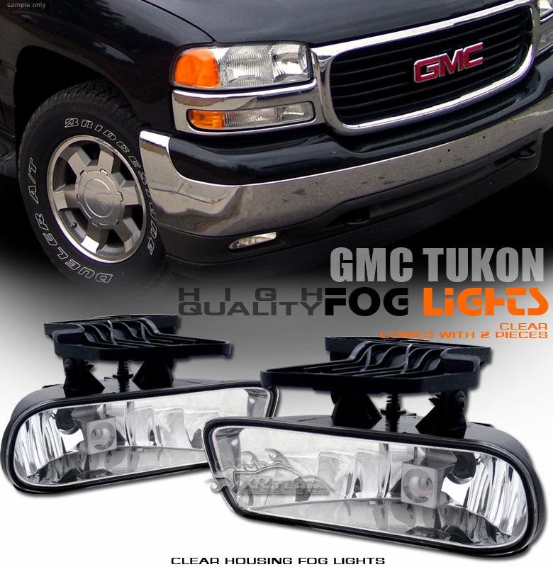 2000 Gmc Yukon Xl 1500 Camshaft: 2000-2006 GMC Yukon/Yukon XL 1500 2500 OEM Clear Bumper