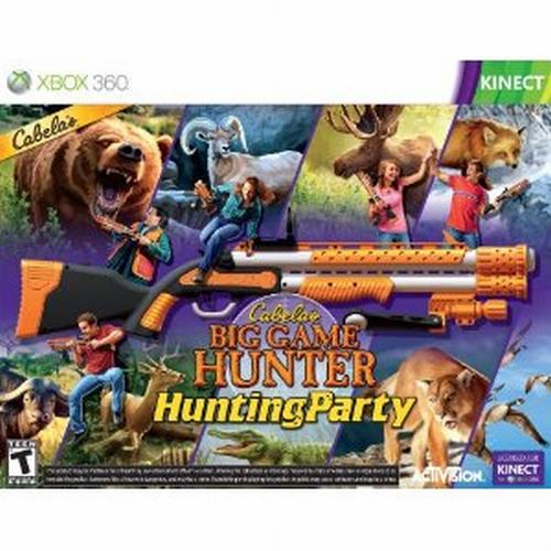 Hunting Games For Xbox 360 : Cabela s big game hunter hunting party with gun for xbox