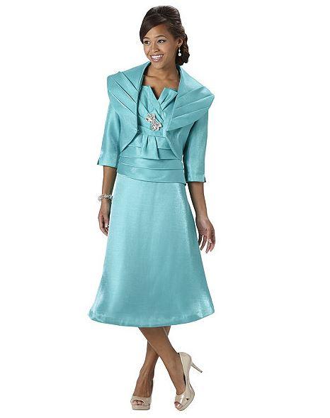 Amazing Audrey B Womenu0026#39;s Long Suit Coat And Dress Set - Free ...