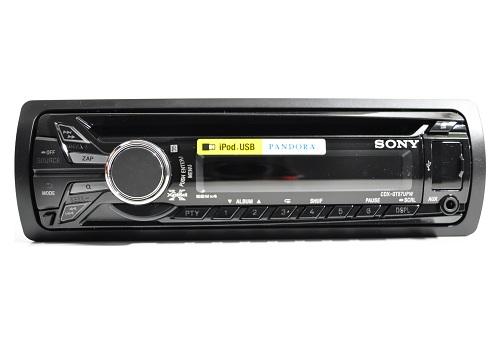 sony cdx gt57upw cd usb receiver with pandora and front aux usb ports ebay