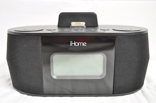 ihome id38s stereo system with dual alarm fm clock radio for ipad iphone ipod ebay. Black Bedroom Furniture Sets. Home Design Ideas