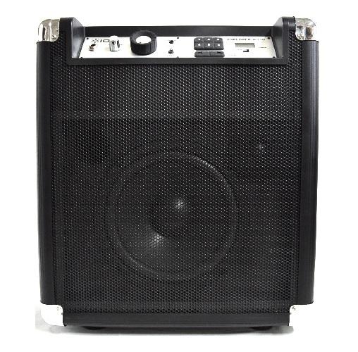 ION Block Rocker Bluetooth IPA56B Speaker System W/ Telescoping Handle & Wheels