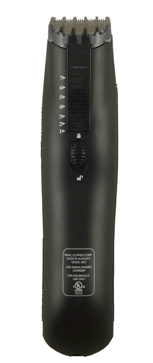wahl men 39 s precision beard and stubble trimmer model 9867 200 ebay. Black Bedroom Furniture Sets. Home Design Ideas