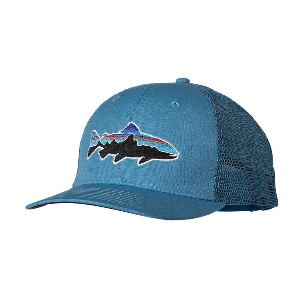 Patagonia Fitz Roy Trout Trucker Catalyst Blue Unisex Hat - MetroShoe  Warehouse ad466377921e