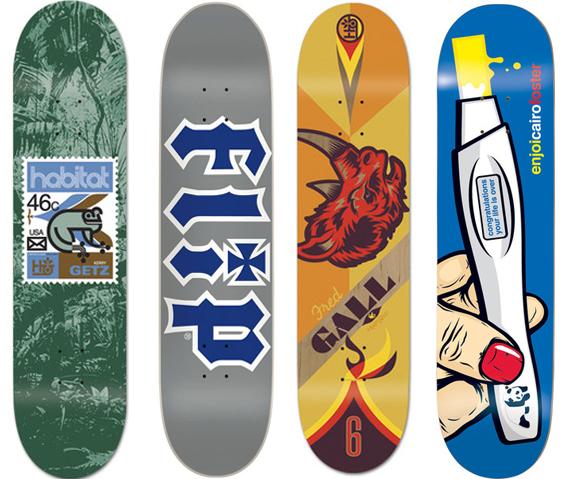 Skateboard Deck Bulk Decks Habitat Flip Enjoi Boards