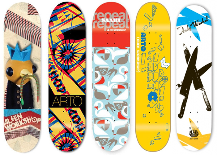 Alien Workshop Skateboard Aws Pro Deck Decks 144