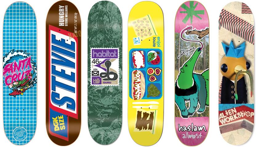 6 Skateboard Deck Pro Decks Bulk Lot Dgk Enjoi Almost Aws