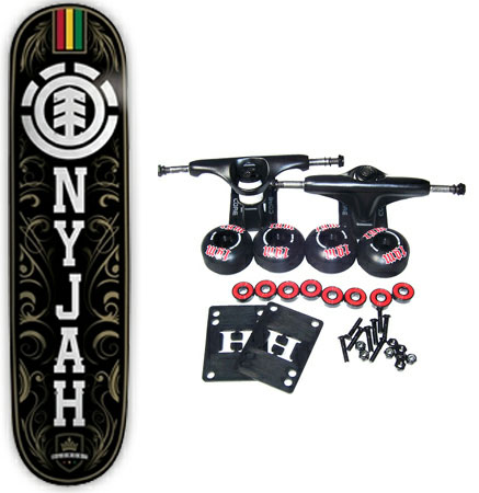 Nyjah Huston Skateboards
