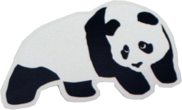 enjoi skateboards panda logo sticker decal 6 x 4 this sticker