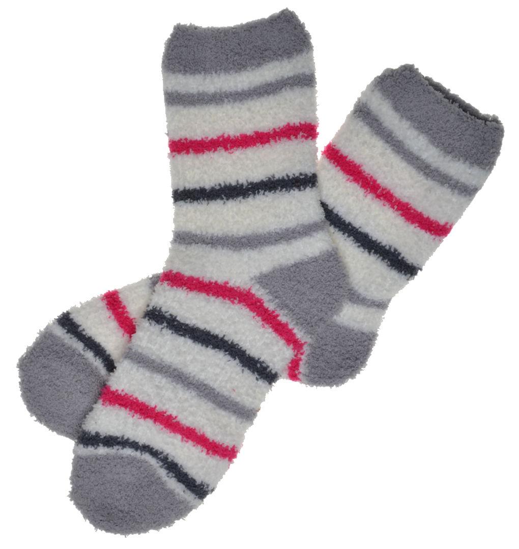 Soft & Warm Stripey FLUFFY Cosy Socks Slipper/ Bed Socks eBay