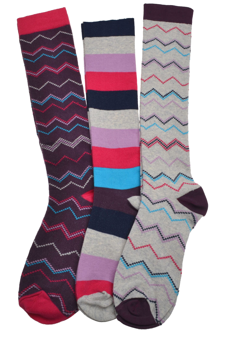 3 pairs of socks knee high boot socks ebay