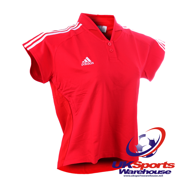 Adidas-Womens-Climalite-Polo-Shirts-Red-rrp-40