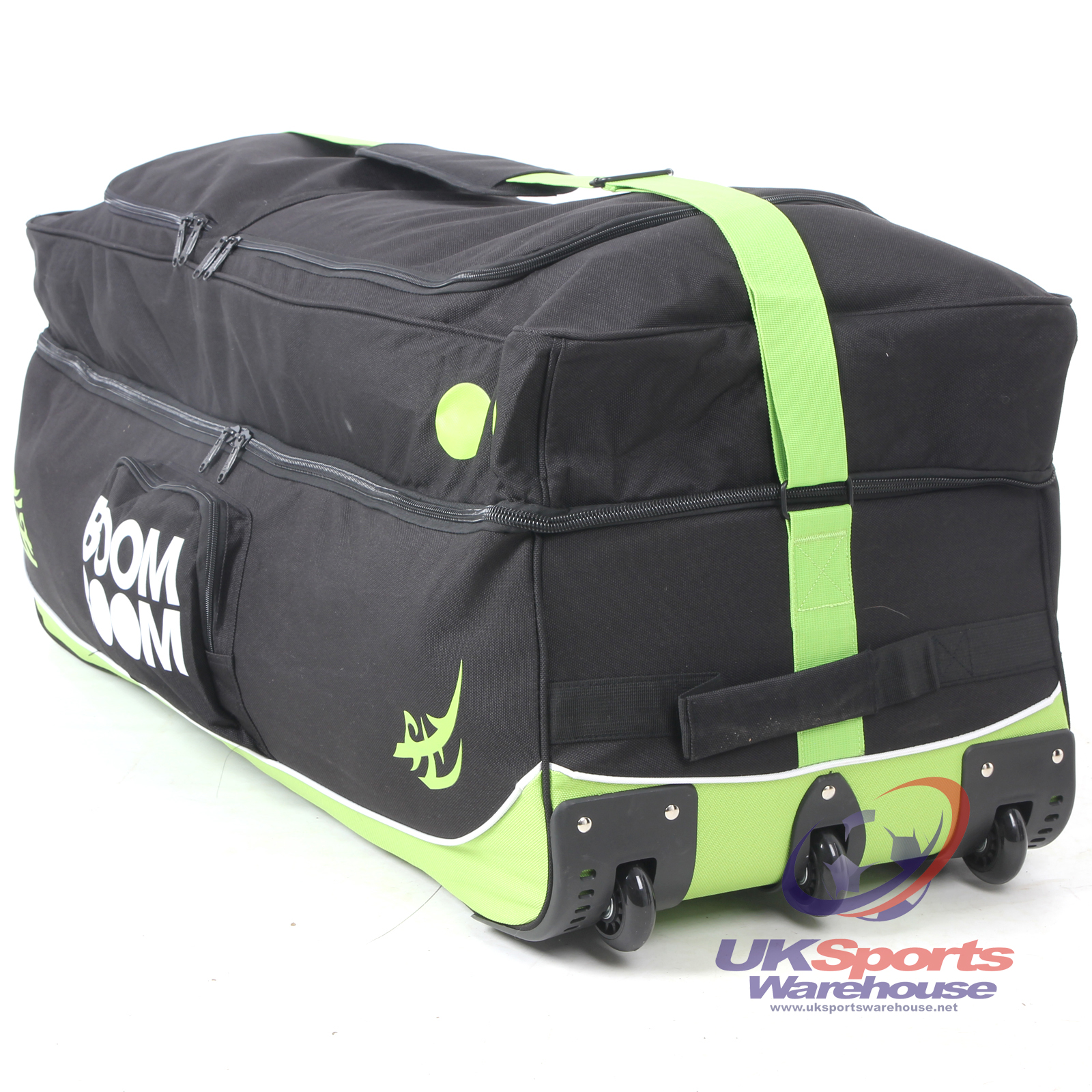 Boom Boom Huge Travel Cricket Wheelie Bag Triple Wheeled Holiday ...