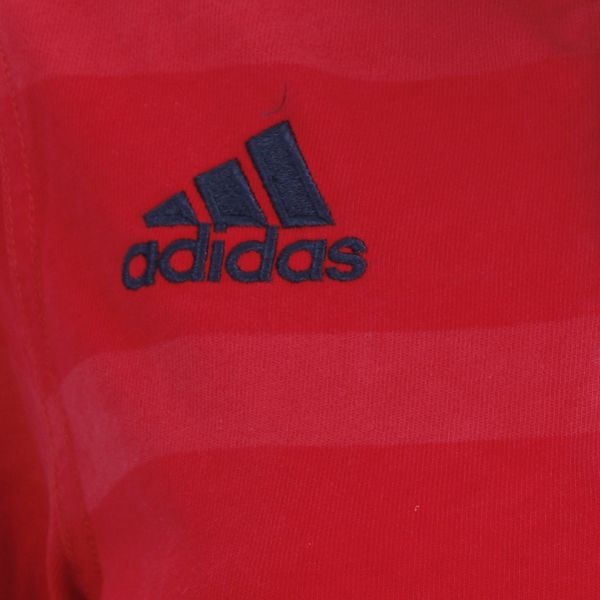 Adidas Rugby Home: Adidas Munster Home Ladies Replica Long Sleeved Rugby