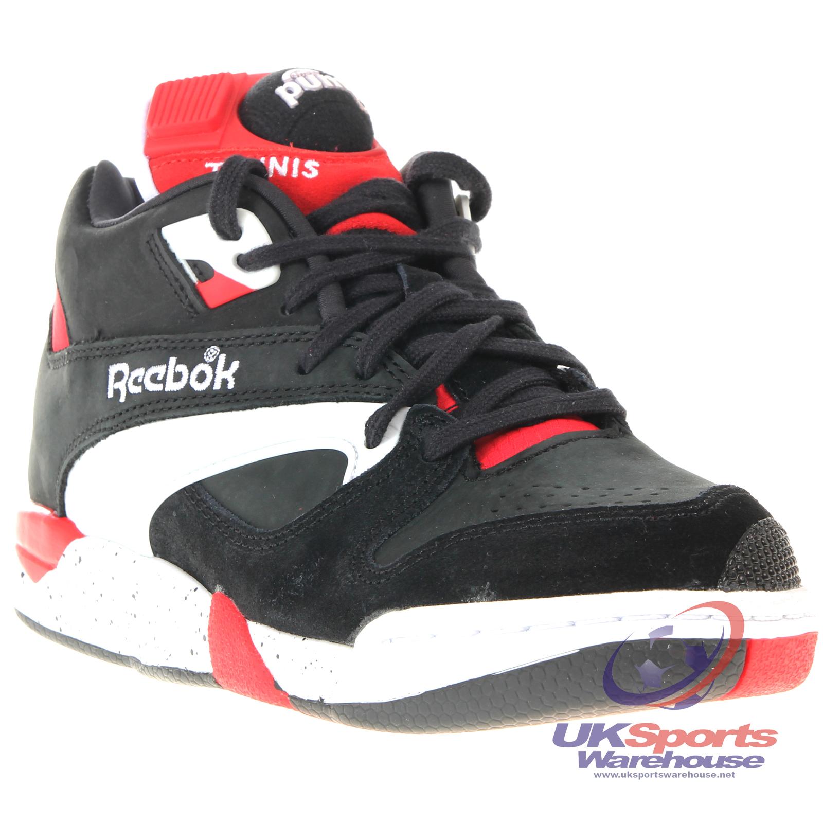 retro reebok pump trainers warehouse