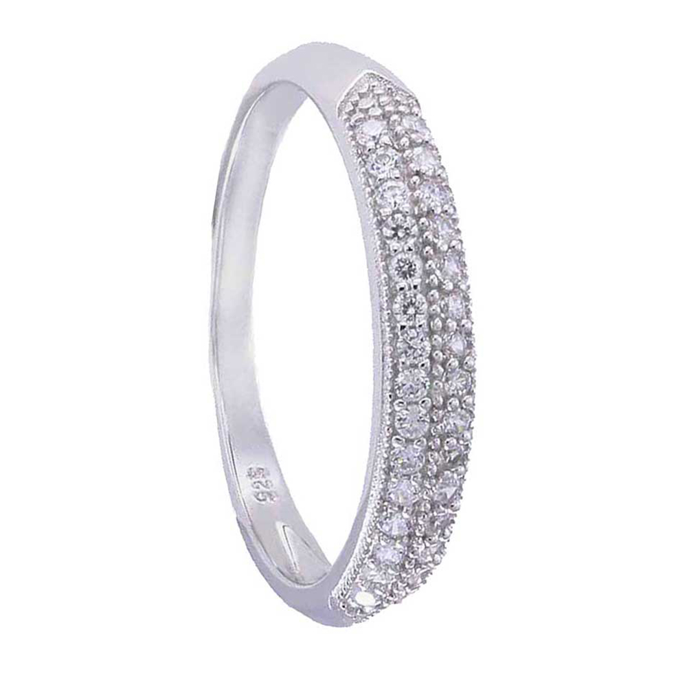 sterling silver cubic zirconia jewelry wedding