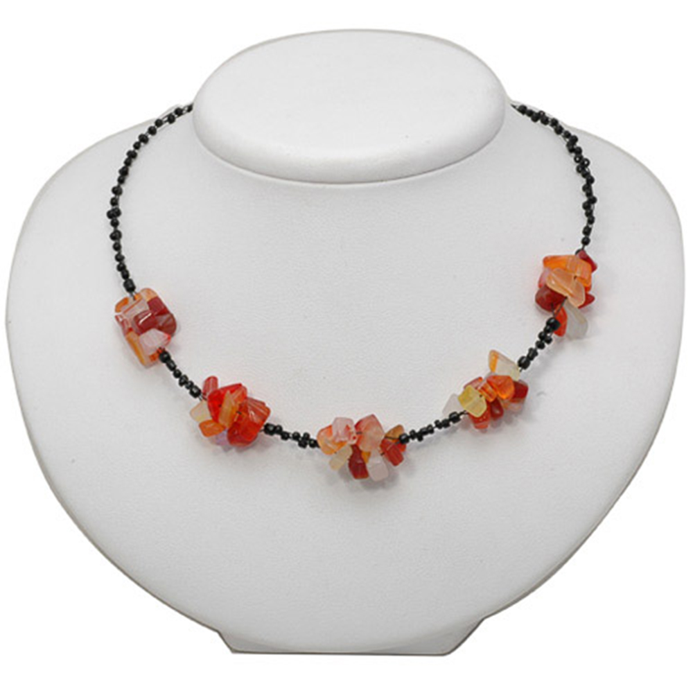 Multi Color Gemstone Chips Amp Beads Women Girl Necklace 16