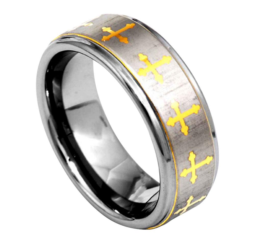 Christian Tungsten Rings