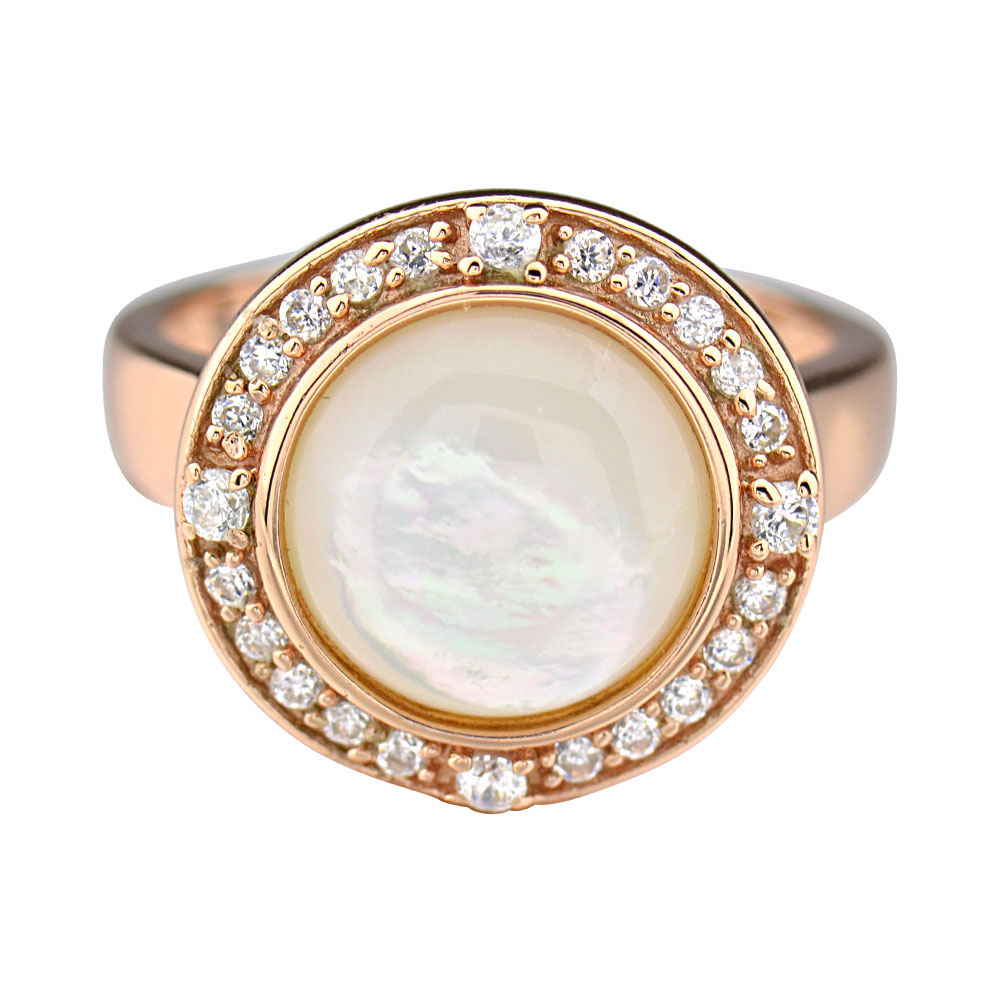 Rose Gold Plated Silver Mother Of Pearl Halo Women's. Different Color Rings. Raw Aquamarine Engagement Rings. 1 10 Carat Wedding Rings. Big Wedding Rings. St Patrick's Day Engagement Rings. 6mm Engagement Rings. Upside Down Engagement Rings. Dark Souls Wedding Rings
