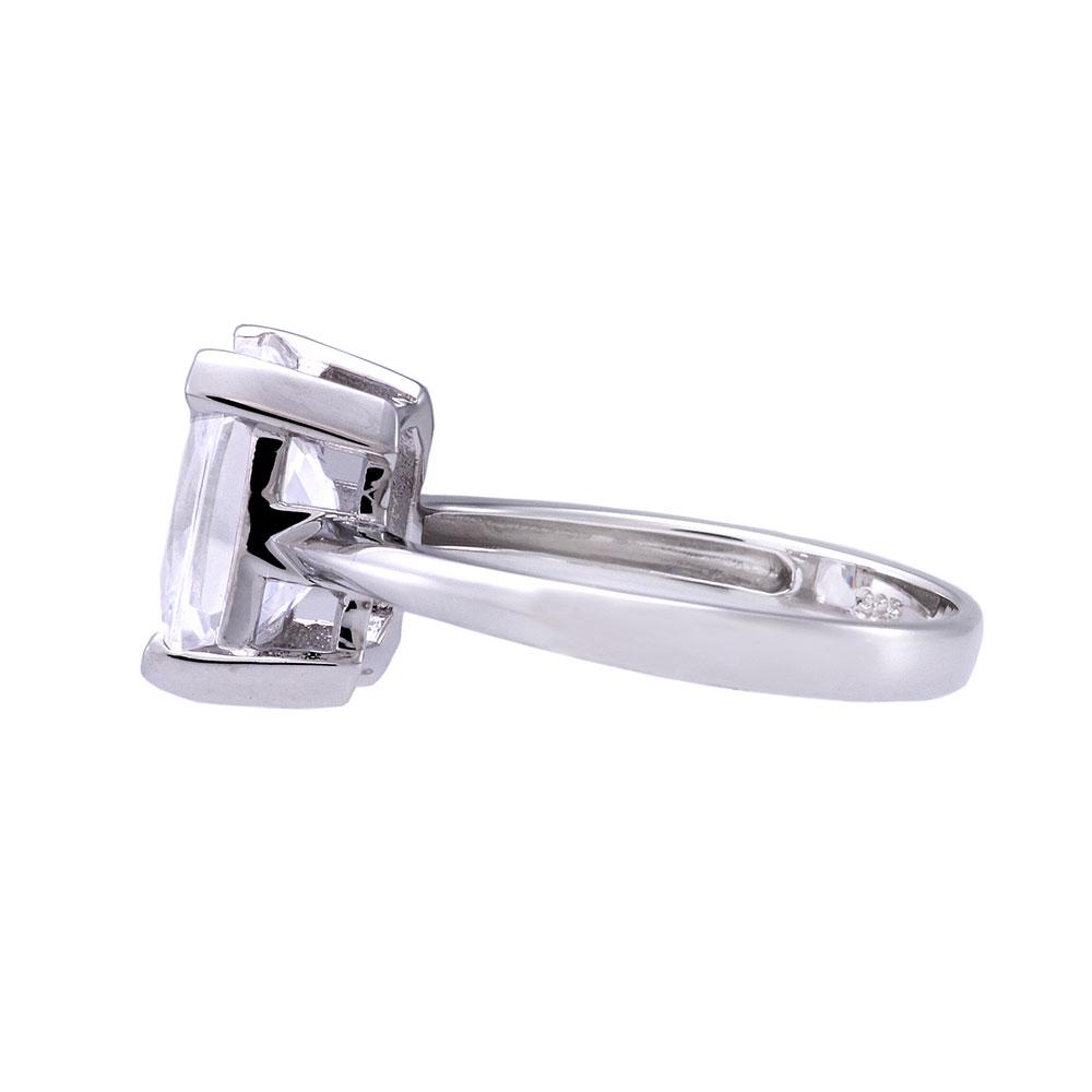 sterling silver emerald cut cubic zirconia jewelry