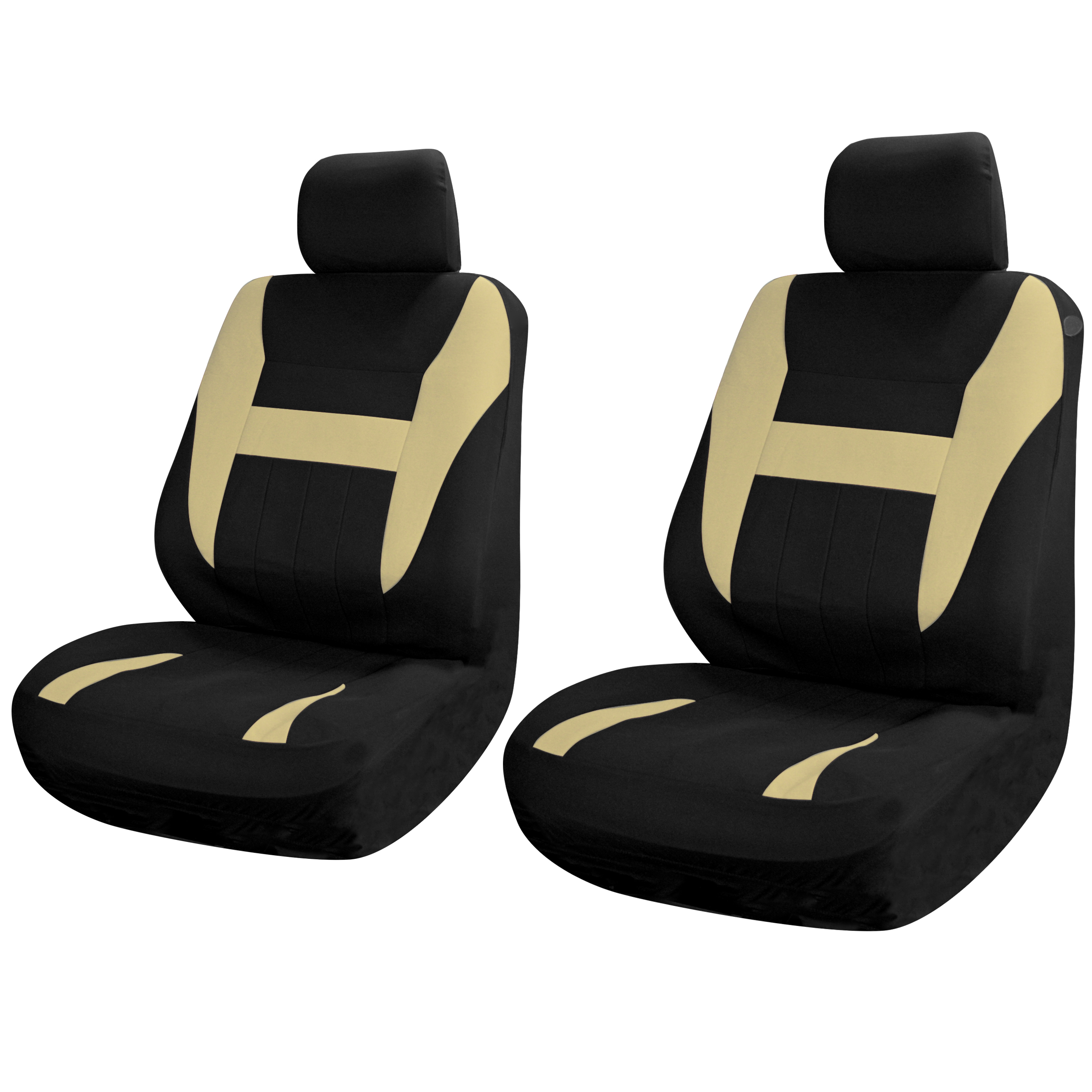 SUV Van Truck Seat Covers For Front Bucket Seats Black