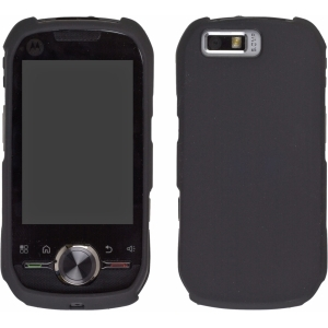 Wireless Solutions Two piece Soft Touch Snap-On Case for Motorola Nextel i1 - Black