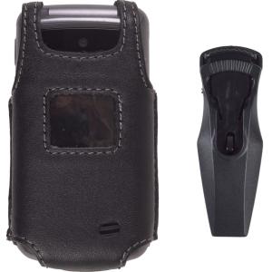 Wireless Solution Swivel Belt Clip Leather Case for LG VX5500