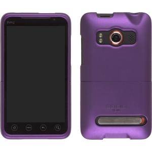 Seidio Innocase II Surface Case for HTC 9292 EVO 4G - Amethyst Purple