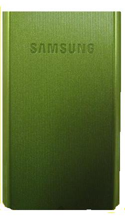 Replacement OEM Samsung SGH-A777 Battery Door, Standard size - Lime/Green Trouvre
