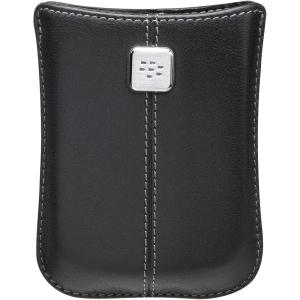 BlackBerry Leather Pocket Case for BlackBerry Storm 9500, 9530 (Black)
