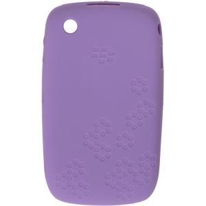 BlackBerry 8520, 8530, 9300, 9330 Embossed Skin Case - Lavender
