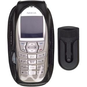 Nokia Leather Case for Nokia 6600, 6620 - Black