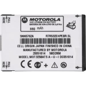 OEM Motorola BT51Slim Battery for KRZR K1m, MOTORIZR Z6tv, MOTOROKR Z6m, V325, W220, W380, W385, W490, W510 (SNN5762)