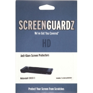 BodyGuardz ScreenGuardz HD Screen Protector with Anti Glare Motorola Droid X MB810 / Milestone X MB809 (2 Pack)