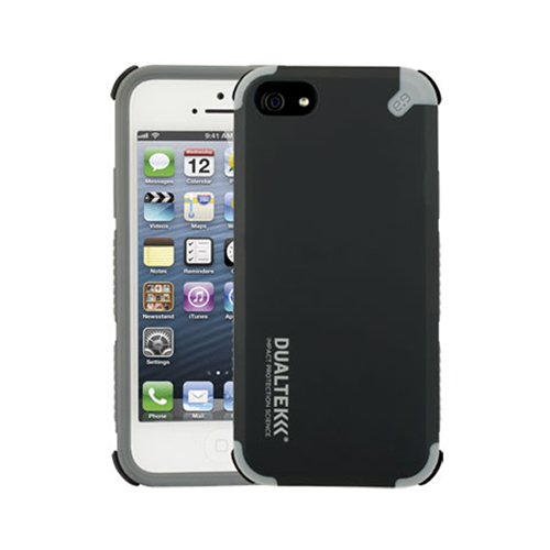 Puregear Dualtek Extreme Impact Case with Screen Protector for Apple iPhone 5 (Black) - 02-001-01831