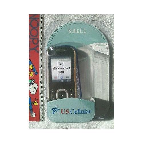 SAMSUNG R520 TRILL BLUE COAT CASE SHELL