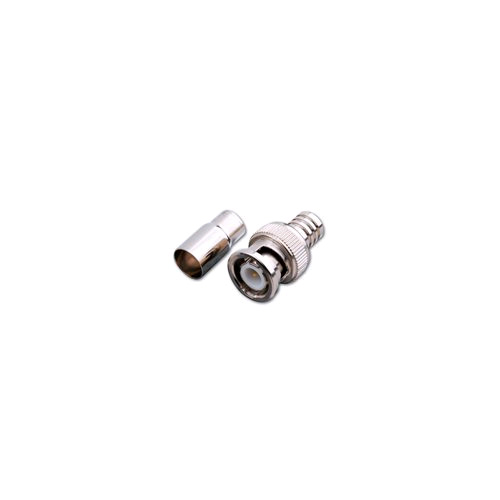 120422X BNC Male Crimp Type Connector RG59/U (Nickel)