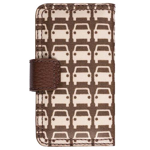 Orla Kiely Rotating Folio Case for Apple iPhone 4/4S, iPhone 3G/3GS (Car Park)
