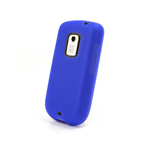 Evercell Silicone Case for HTC Hero ADR6200 - Blue (HT6200CSCSPBL)