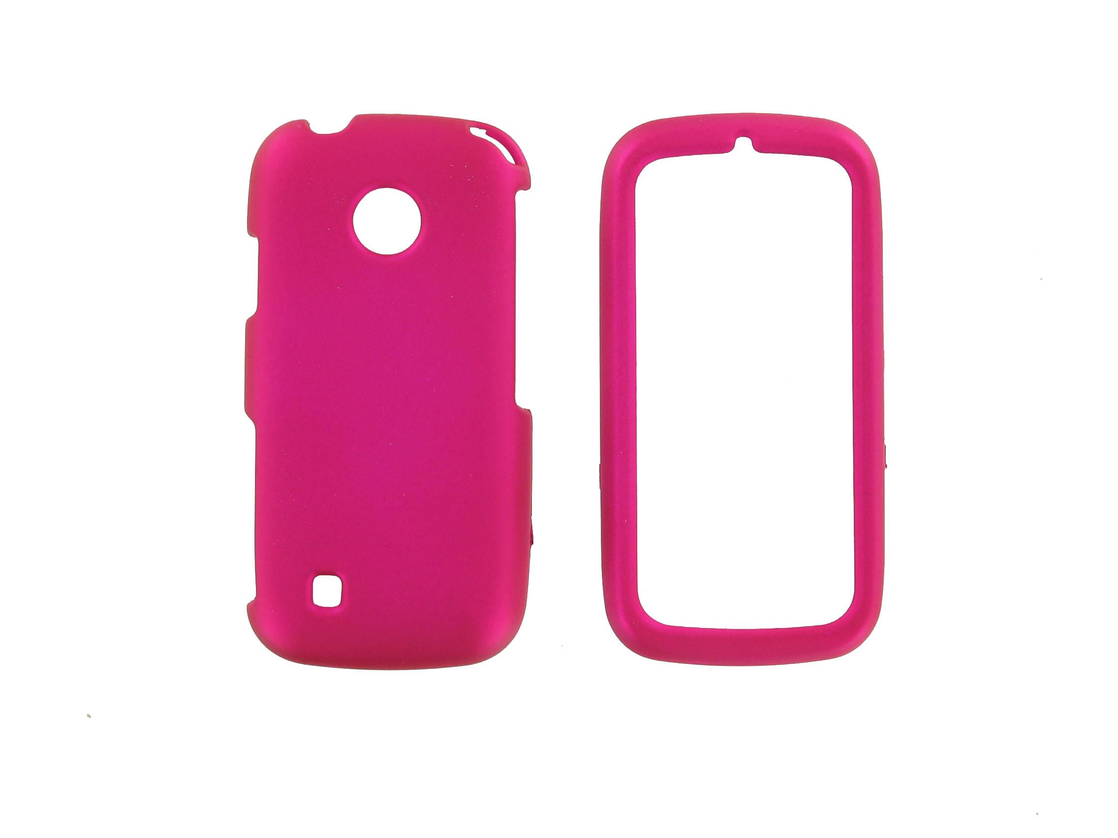 nTelos Snap-On Case for LG AN270, UN270, Cosmos Touch, Attune, Beacon - Pink