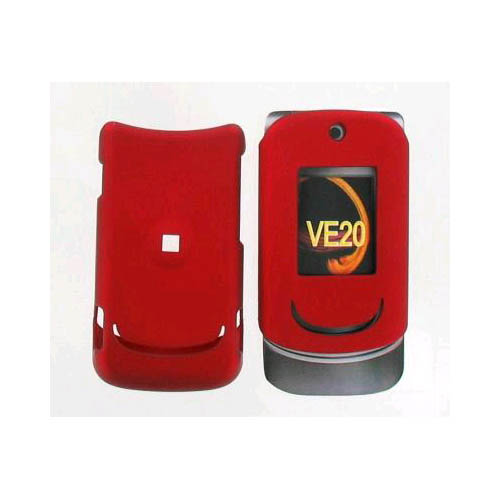 Snap On Case for Motorola VE20 - Matte Bright Red