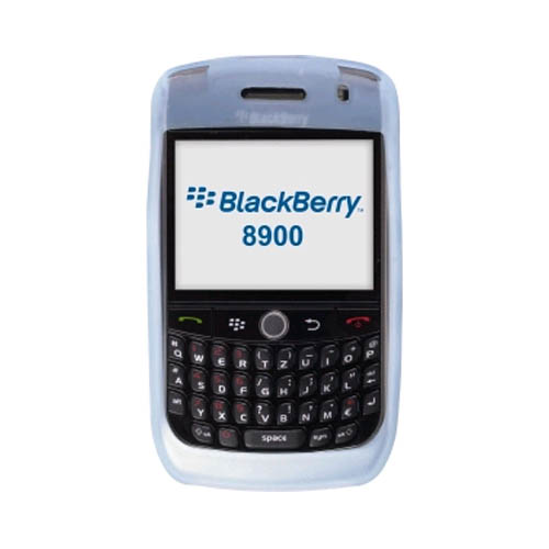 Wireless Solutions Silicon Gel Case for BlackBerry 8900 (Blue)
