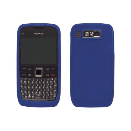 Wireless Solution Silicone Gel Case for Nokia E73 Mode (Cobalt Blue)