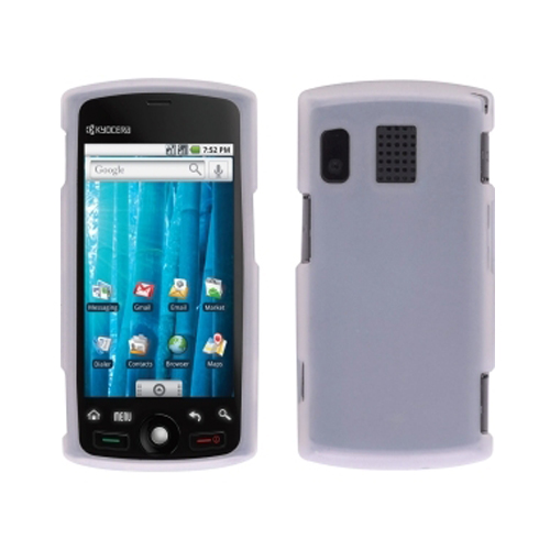 Sprint Smooth Gel Case for Sanyo SCP-8600, Kyocera Zio M6000  - Clear